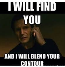 Image result for funny contouring meme