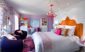 Bedroom: Candice Olson Bedrooms Using Orange Headboard And Purple Chairs  For Bedroom Decoration Ideas