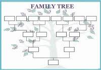Blank Tree Diagram Template | Best Templates Ideas