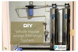 Whole House Filtration Systems Diy Install Your Own Whole House Water Filtration System