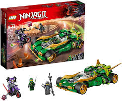 LEGO NINJAGO Ninja Nightcrawler 70641 Building Kit (552 Piece) : Amazon.co. uk: Toys & Games
