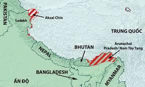 Image result for Bắc Kashimir và Ladakh của Ấn Độ thuộc về Trung Quốc