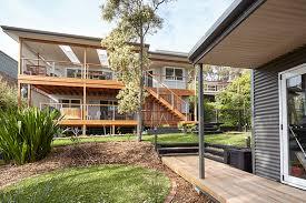 eco home design. wamberal lake house; beachside retreat eco home design x