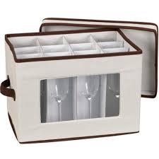 wine glass storage box. Vision Canvas Champagne Flute Storage Box Image Wine Glass