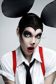 mickey mouse eye makeup i but