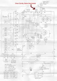 microwave thermostat appliance aid a wiring diagram showing where the flame oven thermostat be