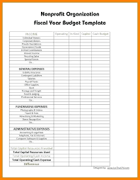 Nonprofit Budget Worksheet Corporate Budget Template Not For Profit Budget Template Sample