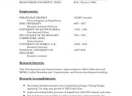 Lecturer Resume Sample For Computer Science Post Chemistry Teaching