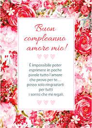 TOP 50 Frasi di Buon Compleanno Amore Mio + Immagine Gratis!