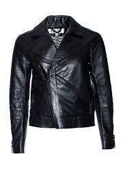 Leather Jacket With Design On Back Kenzo Black Leather Biker Jacket With Logo On The Back In Size 36 S