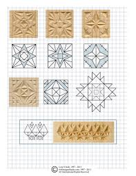 Chip Carving Patterns Impressive Free Chip Carving Pattern By Lora Irish Faragás Pinterest Chip