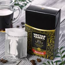Фильтр-пакеты Чистая чашка для заваривания кофе в кружке (5 ...