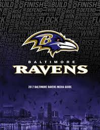 2017 Baltimore Ravens Media Guide By Baltimore Ravens Issuu