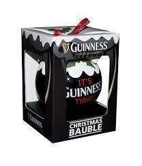 guinness bauble pint