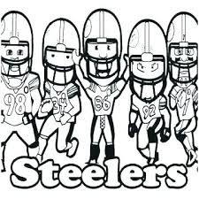 Nfl Coloring Sheets Coloring Pages For Kids New Football Helmet