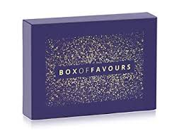 box of favours the ultimate new gift for someone special valentines day
