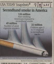 second hand smoke exposure research papers second hand smoke exposure
