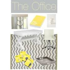 yellow office decor. yellow and gray office guest bedroom the life of party decor
