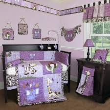 purple crib bedding sets best bedroom astonishing animal purple crib bedding set ideas the purple and