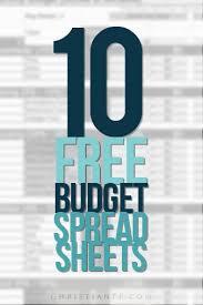 Household Budget Sample Worksheet 10 Free Household Budget Spreadsheets For 2019