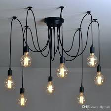 diy light bulb chandelier diy edison bulb chandelier vintage bulbs net spider pendant light lamp fashion diy light bulb chandelier