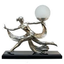 art figurine lamp bronze table lady statue a deco lamps uk art figurine lamp bronze table lady statue a deco lamps uk