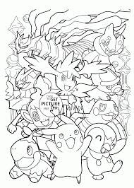 Small Picture Happy Pokemon coloring pages for kids pokemon characters