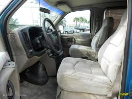Neutral Interior 1999 Chevrolet Express 1500 Passenger Conversion ...