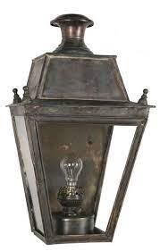 balm large brass victorian flush