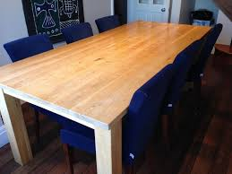 Large Solid Oak Dining Table In Grange Over Sands Cumbria