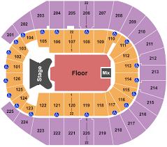 Elton John Tickets Seating Chart Simmons Bank Arena