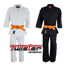 Karate Belt Size Chart Details About Twister Student Middleweight Karate Uniform Gi With Free White Belt 8 5oz