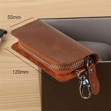 billtera pu leather key holder zipper new mens keychain wallets casual style mini women keys case wallet snakeskin wallet female wallets from bluemoodd