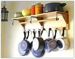 hanging pot rack ideas pot and pan hanging rack home design ideas kitchen with regard to hanging pot rack