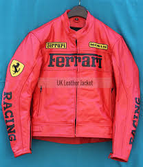 A sporty ferrari biker jacket choice for all the riders and motocross madness enthusiasts looking to drive their two wheelers and vehicles in utter. Motorbike Red Color Ferrari Biker Leather Jacket With Safety Pads For Bikers Leather Motorcycle Jacket Hot Leather Jacket Cheap Leather Jacket