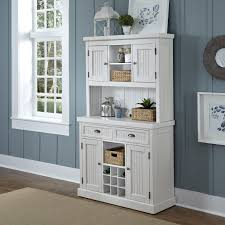 Kitchen Hutch Furniture White Hutch Furniture For Kitchen With Cape Cod Cabinet Doors