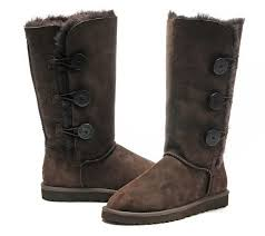 Ugg Dark Brown-Bailey Button Triplet Boots 1873 Outlet,uggs celebrity ,ugg  mini sale,Available to buy online