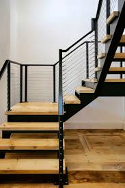 Painted Wood Stairs Best 25 Steel Stairs Ideas On Pinterest Steel Stairs Design