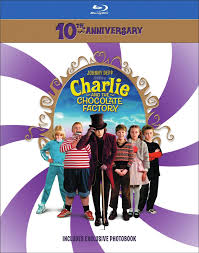 charlie and the chocolate factory dvd release date cover