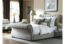 upholstered sleigh beds. Gray Sleigh Bed Tufted Elegant Best Upholstered Queen With . Beds