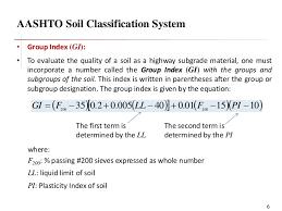 Classification Os Soil