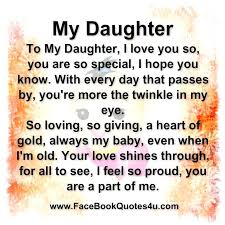Daughter Love Quotes Interesting Love For A Daughter Quotes Plus I Love My Daughter Quotes And