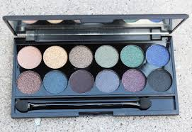 sleek makeup i divine arabian nights smoke shadows palette swatches review look ink pot in