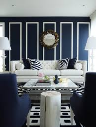 Beautiful Rooms In Blue And White  Traditional HomeNavy And White Living Room