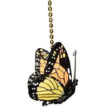 Fan Pull Chain Ornaments Cool Monarch Butterfly Ceiling Fan Pull Chain Ornament Decor Butterflies