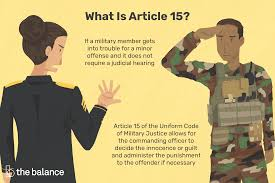 Article 15 What Happens When You Break The Rules In The