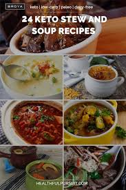 24 keto stew and soup recipes