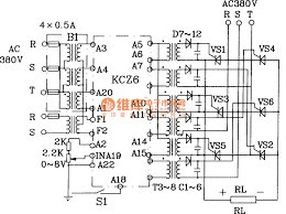 ac voltage regulator circuit diagram the wiring diagram three phase servo voltage stabilizer circuit diagram nodasystech circuit diagram
