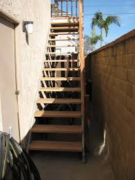 Exterior stairs Exterior stairs
