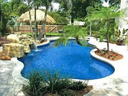 natural looking in ground pools. Inground Pools Designs Natural Looking Pool Blue Isle In Ground Deck .